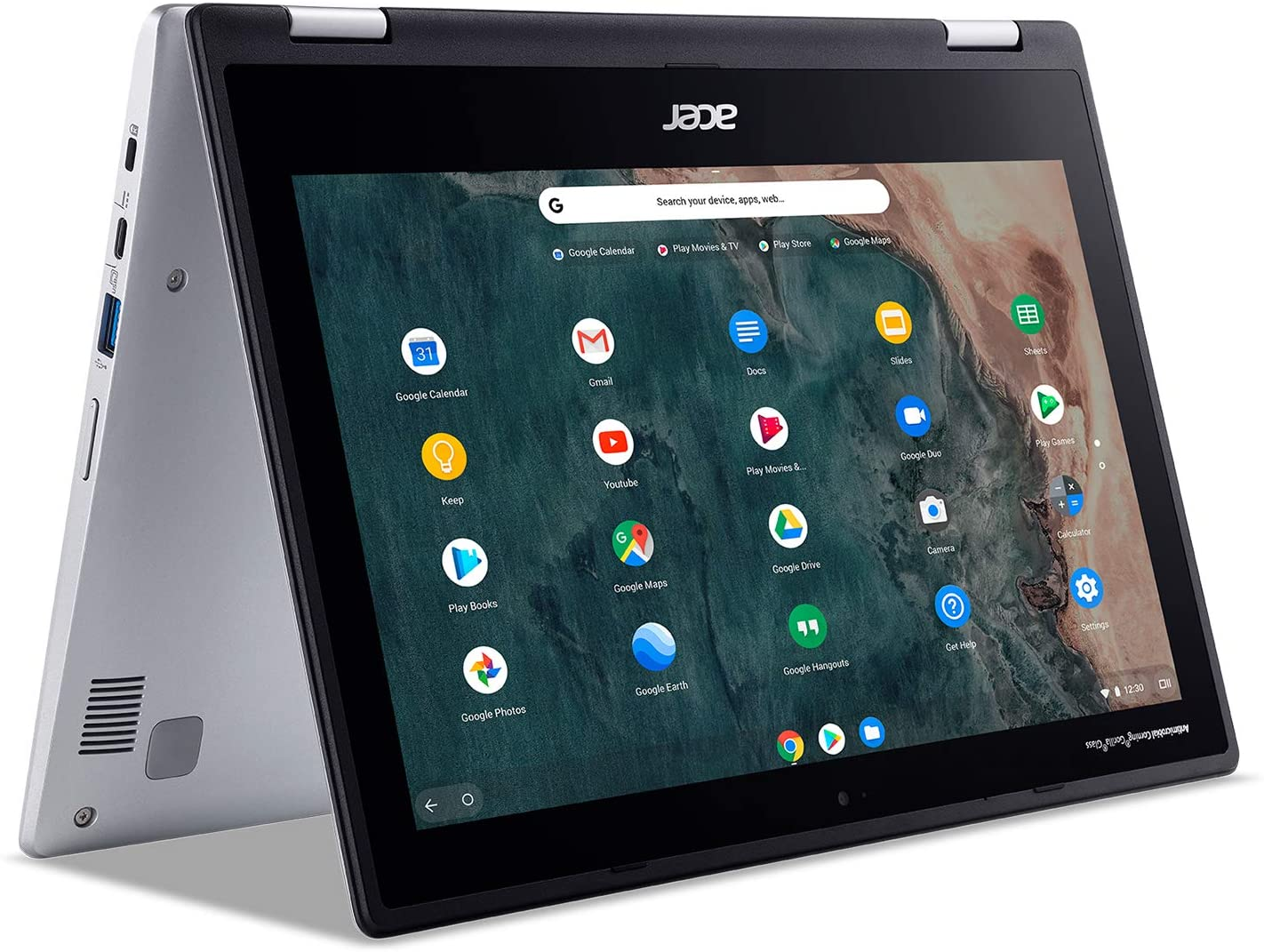 Acer Chromebook Spin rotating tablet for photo editing