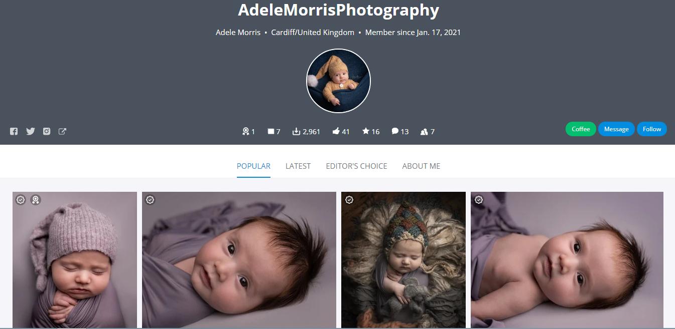 Adele Morris Photography Pixabay Profile