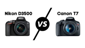 Read more about the article Nikon D3500 vs Canon T7 in 2021 (Which is Better for Beginners)