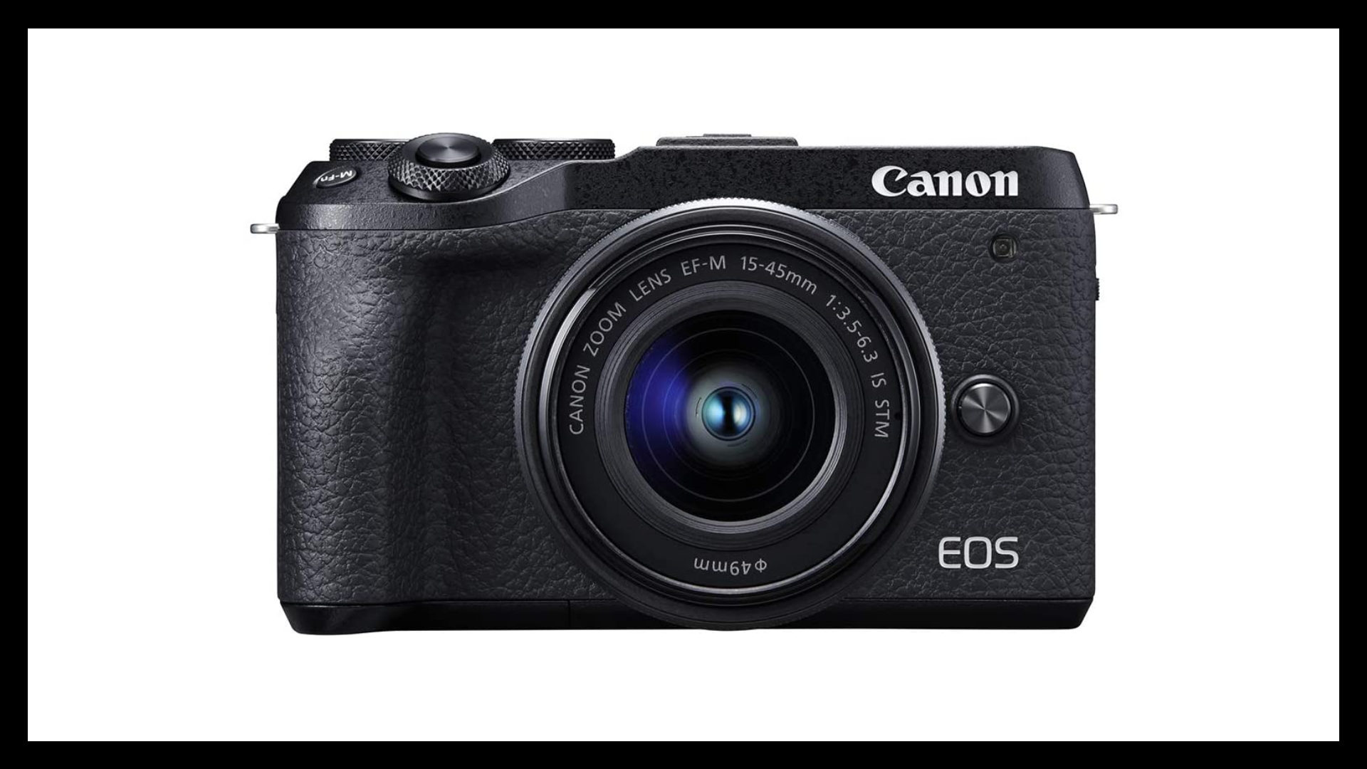 Canon EOS M6 Mark II Best Vlogging Camera With Flip Screen