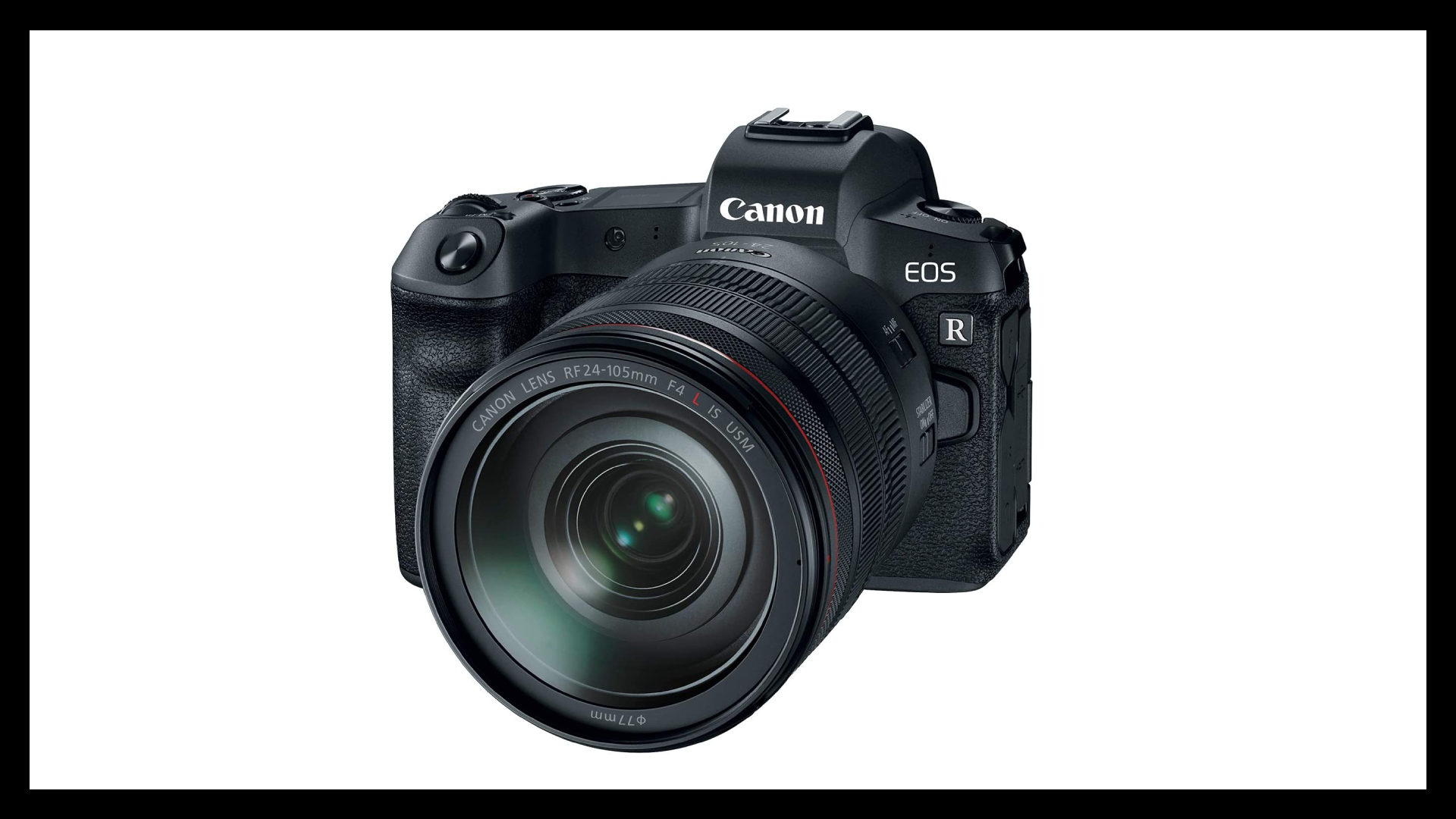 Canon EOS R Best Vlogging Camera With Flip Screen