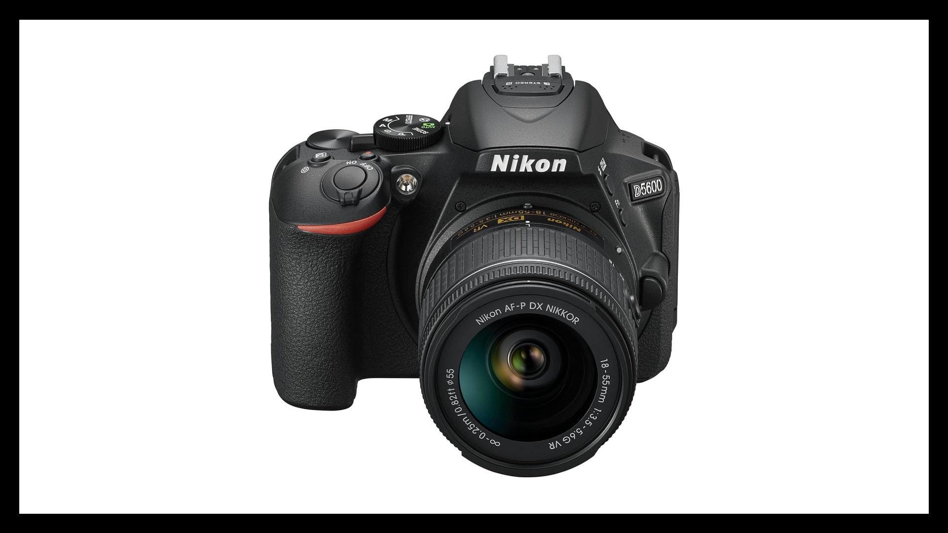 Nikon D5600 Best Vlogging Camera With Flip Screen