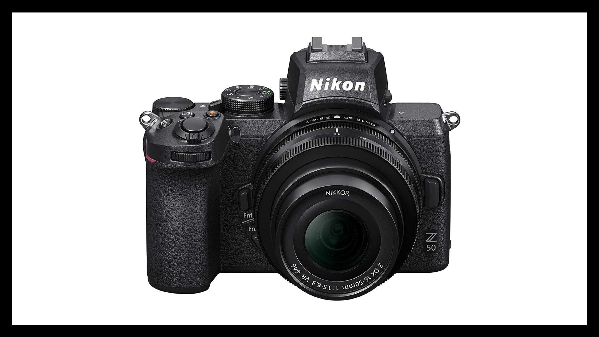 Nikon Z50 Best Vlogging Camera With Flip Screen