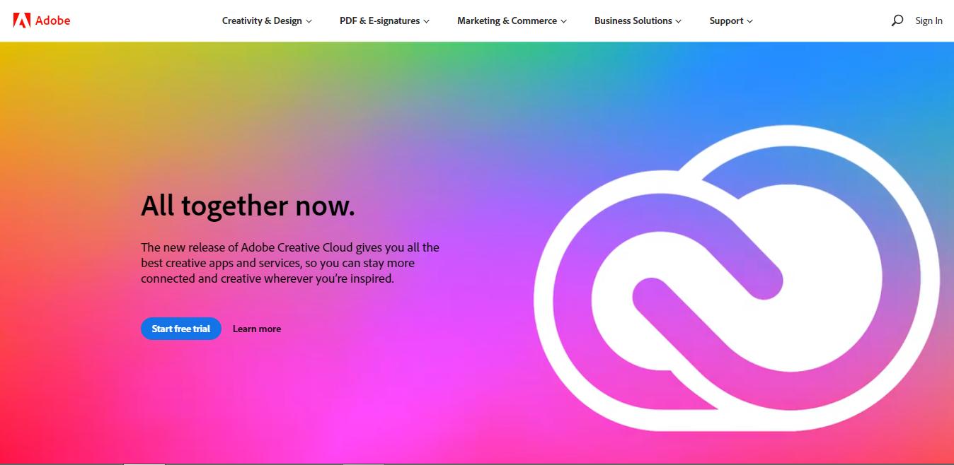 Adobe Photo Editing Softwares