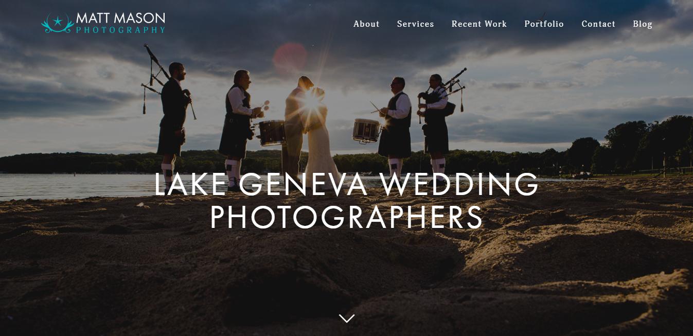 Matt Manson Photography Website